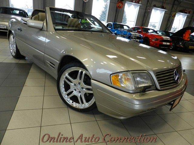 1997 mercedes sl320 2tops extra clean fl car new 19inch for Mercedes benz for sale buffalo ny