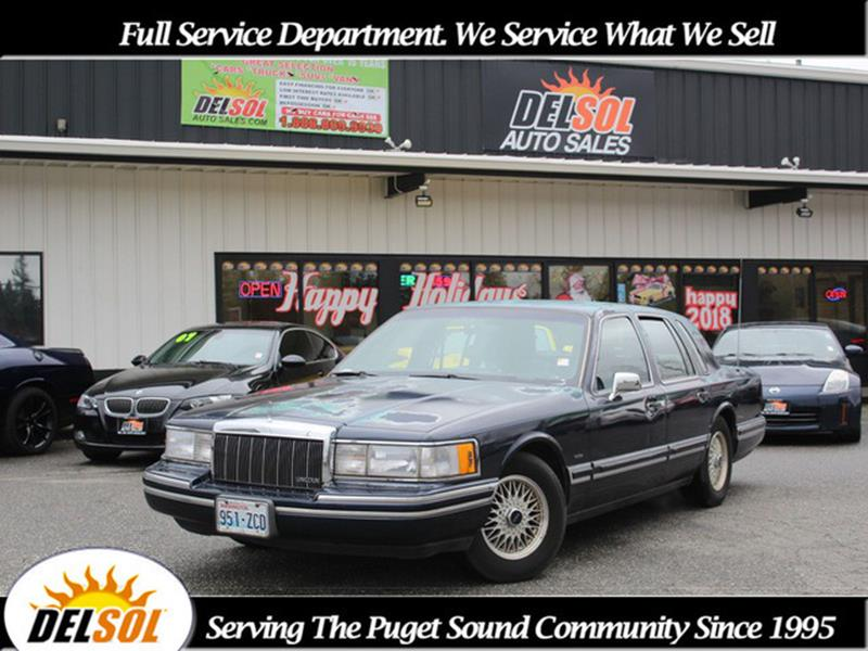 1991 Lincoln Town Car For Sale In Morris Mn Carsforsale Com