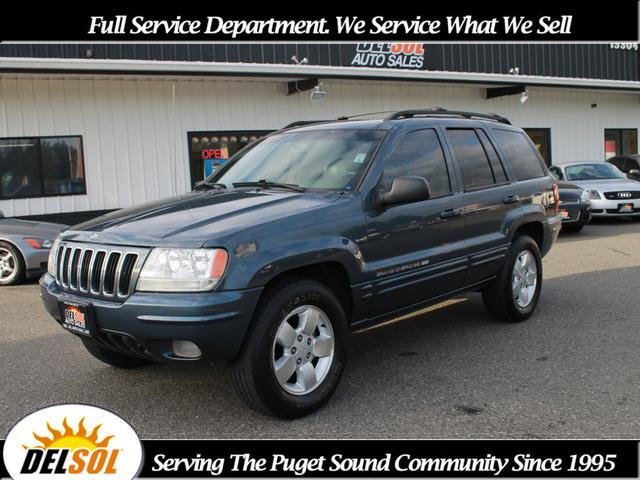 2001 jeep grand cherokee for sale in everett wa. Black Bedroom Furniture Sets. Home Design Ideas