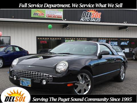 2002 Ford Thunderbird for sale in Everett, WA
