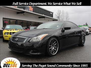 infiniti g37 coupe manual for sale