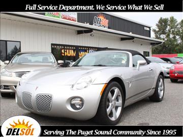 2006 Pontiac Solstice for sale in Everett, WA