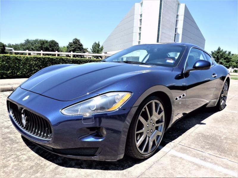 maserati granturismo for sale in houston tx. Black Bedroom Furniture Sets. Home Design Ideas