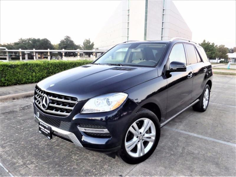mercedes benz m class for sale in houston tx. Black Bedroom Furniture Sets. Home Design Ideas