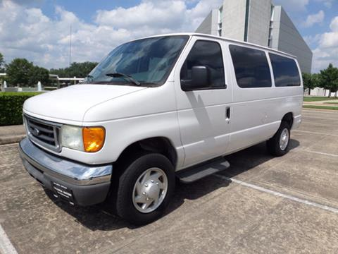 2007 Ford E-Series Wagon for sale in Houston, TX