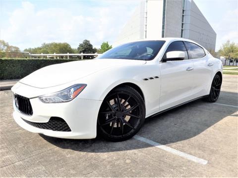2014 Maserati Ghibli for sale in Houston, TX