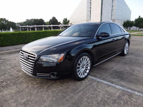 2013 Audi A8 for sale in Houston, TX
