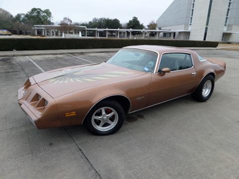 1979 Pontiac Firebird for sale in Houston, TX