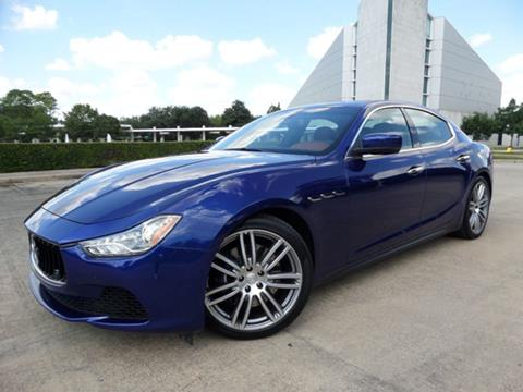 2015 Maserati Ghibli for sale in Houston, TX