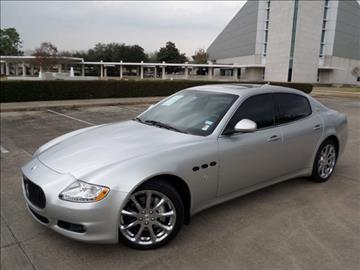 2009 Maserati Quattroporte for sale in Houston, TX