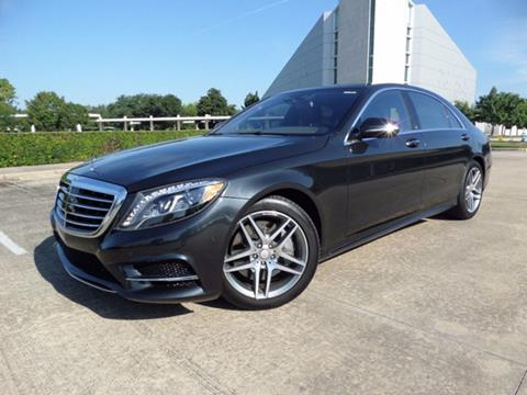 2016 Mercedes-Benz S-Class for sale in Houston, TX