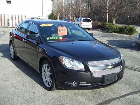 2012 Chevrolet Malibu for sale in Kenosha, WI