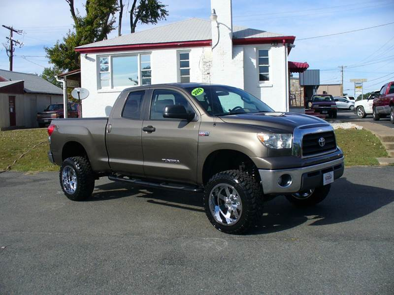 2009 toyota tundra 4x2 sr5 4dr double cab sb 5 7l v8 in fredericksburg va m r auto sales. Black Bedroom Furniture Sets. Home Design Ideas