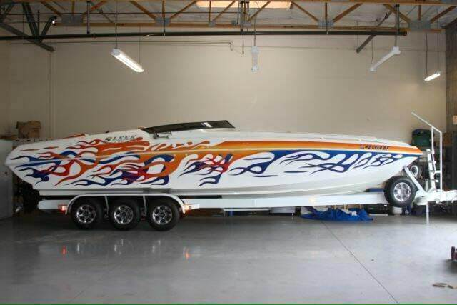 2003 Sleekcraft 32 Heritage Open Bow