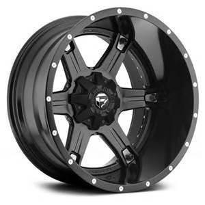 2017 Fuel Wheels 20x14 Driller Black