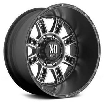 2017 XD Wheels 20x14 Riot Black