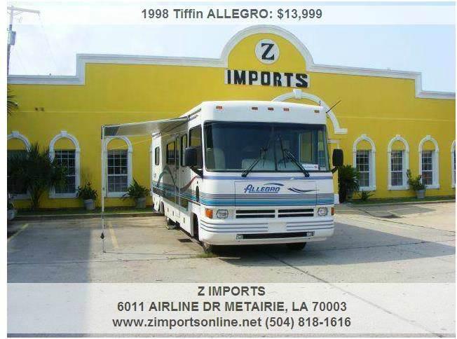 1998 Tiffin ALLEGRO  - Metairie LA