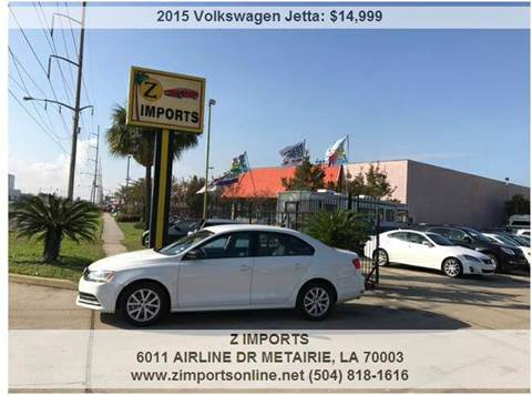 2015 Volkswagen Jetta for sale in Metairie, LA