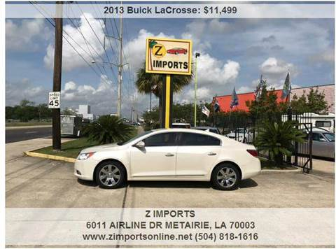 2013 Buick LaCrosse for sale in Metairie, LA