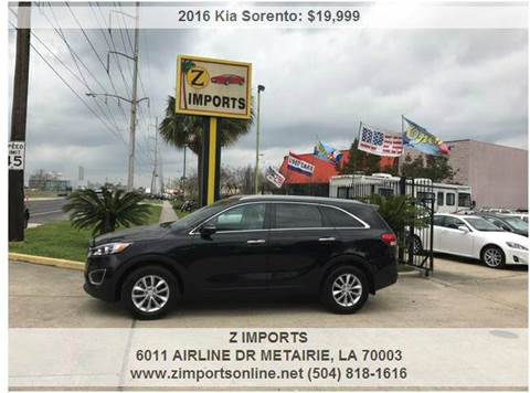 2016 Kia Sorento for sale in Metairie, LA