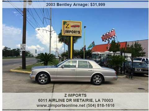 2003 Bentley Arnage for sale in Metairie, LA