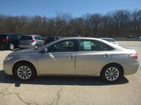 2017 Toyota Camry Hybrid for sale in Evanston, IL