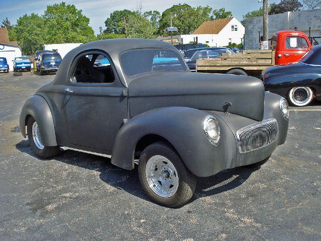 1941 Willys 3 Window Coupe