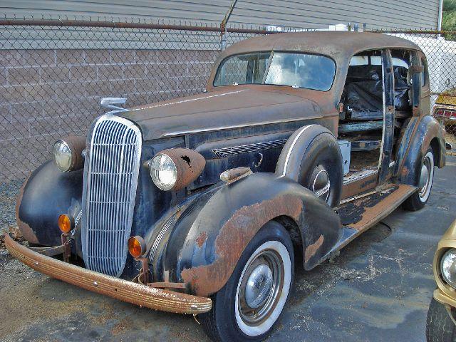 1936 Buick 4 door sedan