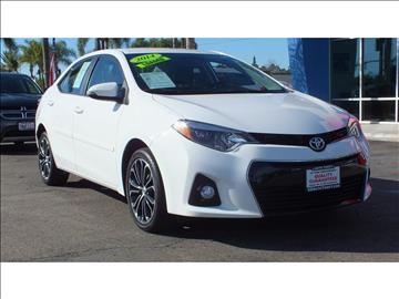 2014 Toyota Corolla for sale in Escondido, CA