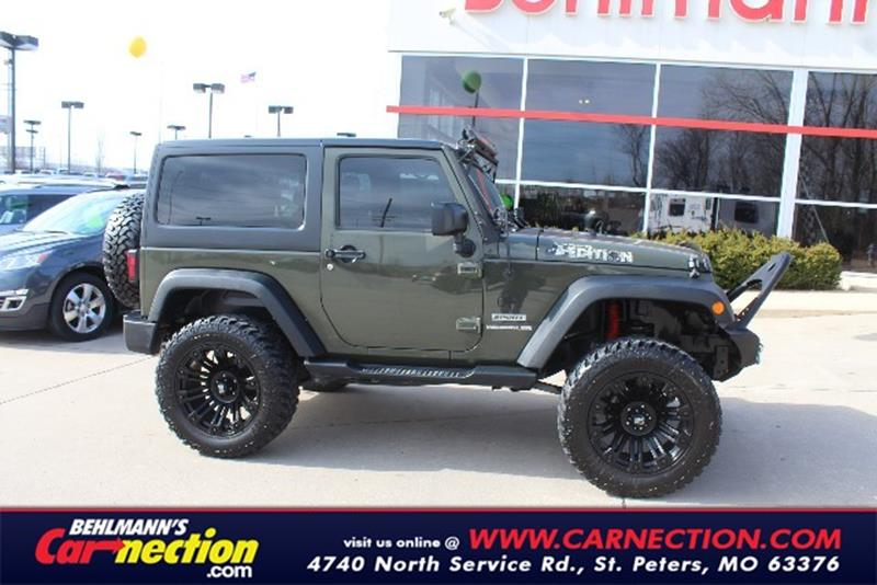 used jeep wrangler for sale in saint peters mo. Black Bedroom Furniture Sets. Home Design Ideas