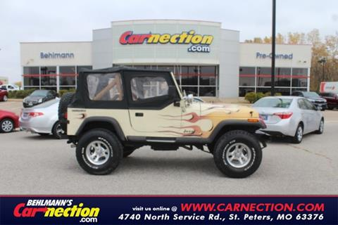 1987 Jeep Wrangler for sale in Saint Peters, MO