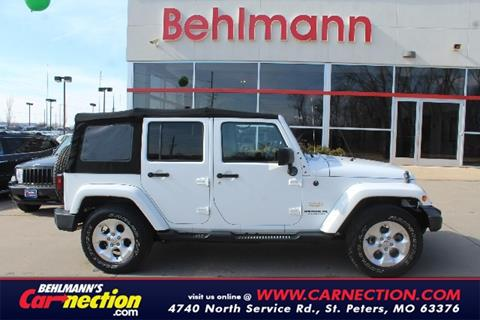 Jeep Wrangler For Sale In Saint Peters Mo