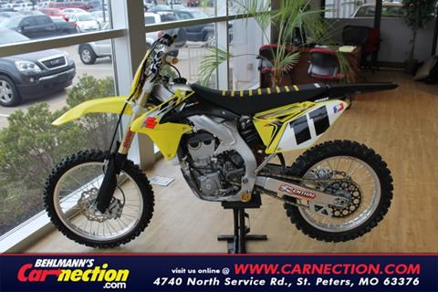 2014 Suzuki RMZ 450 for sale in Saint Peters, MO