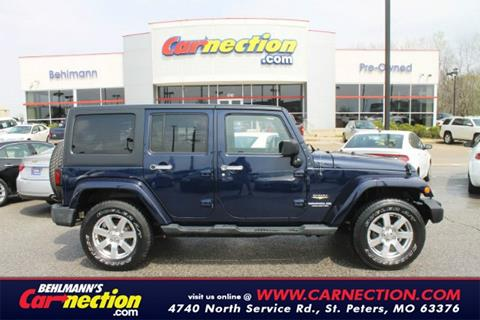 2013 Jeep Wrangler Unlimited for sale in Saint Peters MO