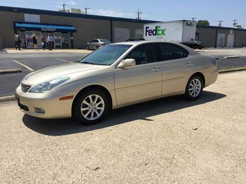 2003 lexus es 300 for sale dallas tx. Black Bedroom Furniture Sets. Home Design Ideas