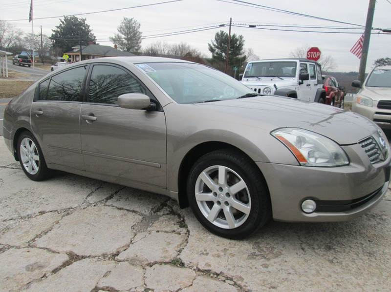 2005 nissan maxima 3 5 sl 4dr sedan in mount airy nc. Black Bedroom Furniture Sets. Home Design Ideas