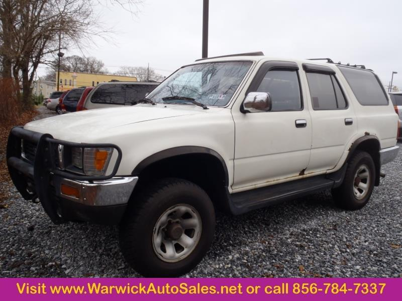 1991 toyota 4runner for sale in magnolia nj. Black Bedroom Furniture Sets. Home Design Ideas