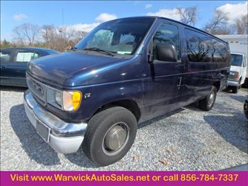 2002 Ford E Series Wagon For Sale Carsforsale