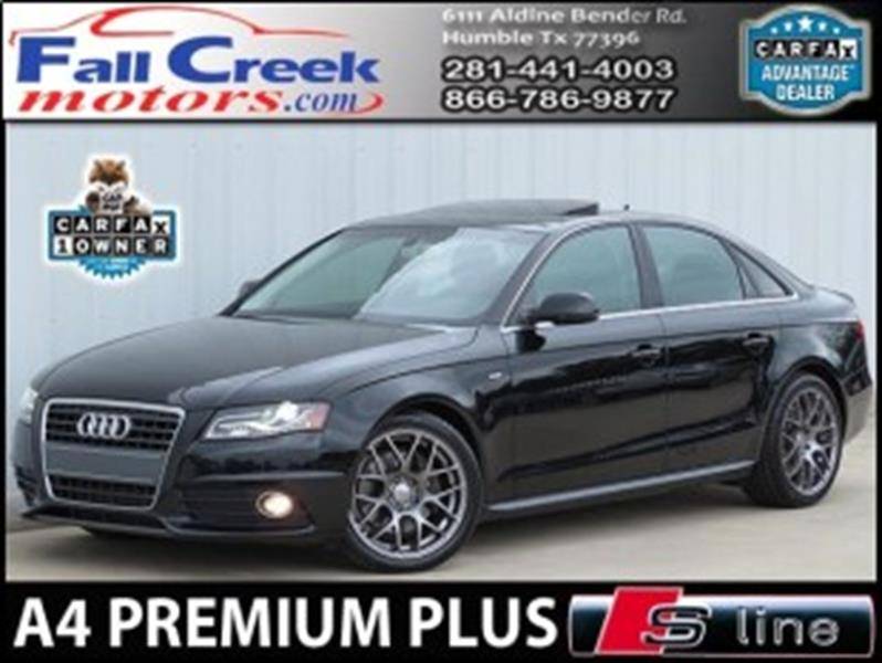 2012 audi a4 2 0t premium plus 4dr sedan in humble tx. Black Bedroom Furniture Sets. Home Design Ideas