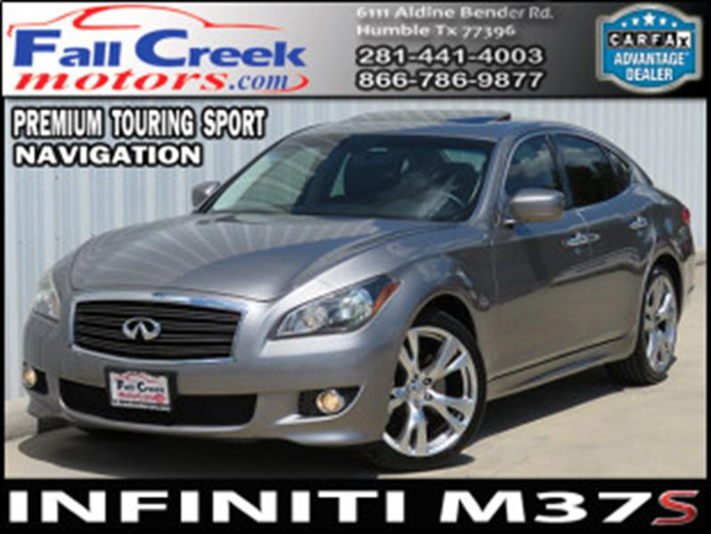 2011 Infiniti M37 4dr Sedan   Humble TX