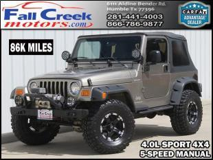 2003 Jeep Wrangler for sale in Humble, TX