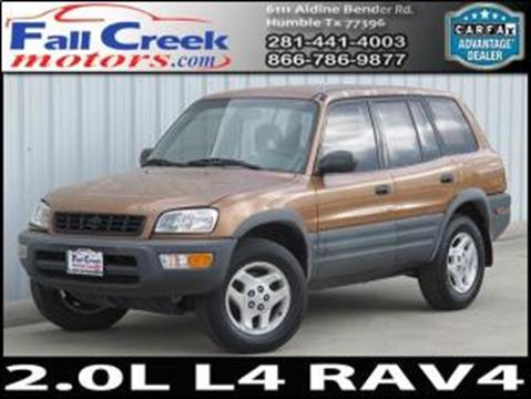 1998 Toyota RAV4 for sale in Humble, TX