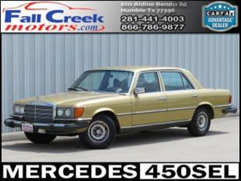 1979 Mercedes-Benz 450-Class for sale in Humble, TX