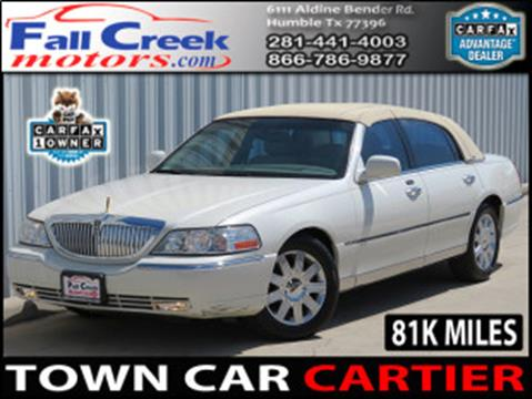 2003 Lincoln Town Car for sale in Humble, TX
