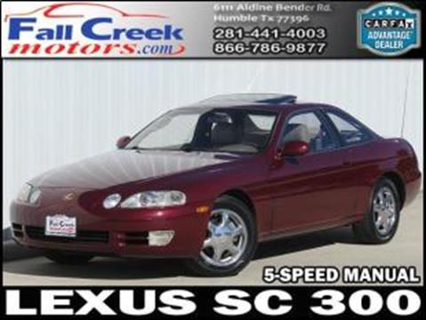 1996 Lexus SC 300 for sale in Humble, TX