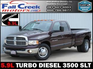 2005 Dodge Ram Pickup 3500 for sale in Humble, TX