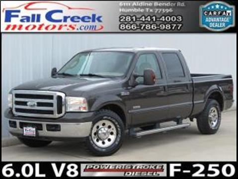 2006 Ford F-250 Super Duty for sale in Humble, TX