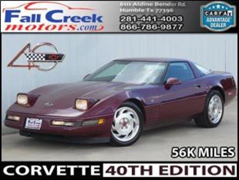 1993 Chevrolet Corvette for sale in Humble, TX