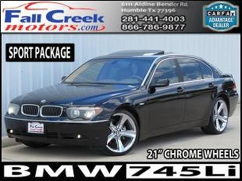 2003 BMW 7 Series for sale in Humble, TX