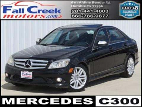 2009 Mercedes-Benz C-Class for sale in Humble, TX